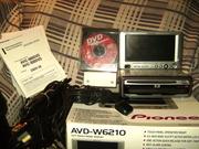 Pioneer W6120 (монитор) и DVD800 (голова) не Китай,  навигация Европа!